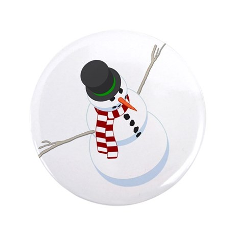 "Bliz the Snowman 3.5"" Button"