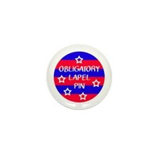 Obligatory Lapel Pin Mini Button (100 pack)