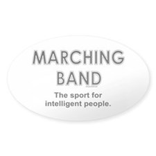 Marching Band Oval Sticker (50 pk)
