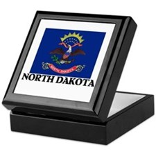 North Dakota Keepsake Box