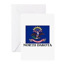 North Dakota Greeting Cards (Pk of 10)