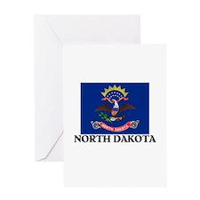 North Dakota Greeting Card