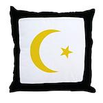 Anarchy Symbol Throw Pillow