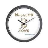 Marydel MD It's My Town Wall Clock