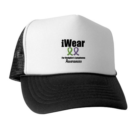 iWear Hodgkin's Ribbons Trucker Hat