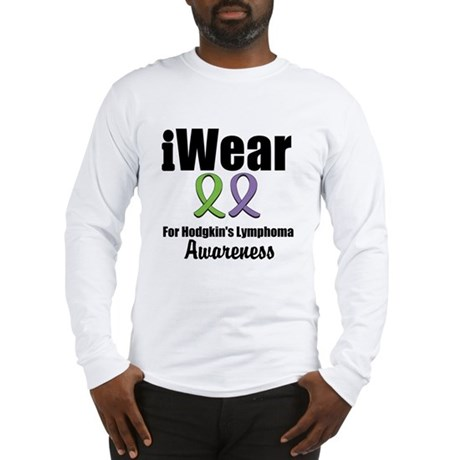 iWear Hodgkin's Ribbons Long Sleeve T-Shirt