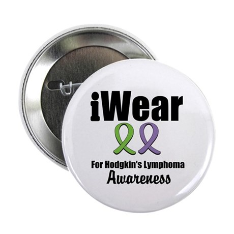 "iWear Hodgkin's Ribbons 2.25"" Button"