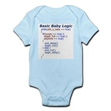 Basic Baby Logic Onesie