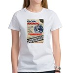 Global Warming Hollywood Vintage Poster Women's T-
