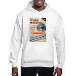 Global Warming Hollywood Vintage Poster Hooded Swe