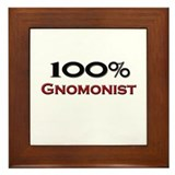 100 Percent Gnomonist Framed Tile