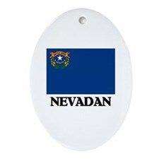 Nevadan Oval Ornament