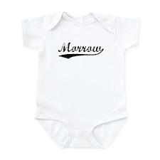 Vintage Morrow (Black) Infant Bodysuit