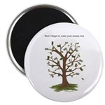 Water Your Money Tree Magnet