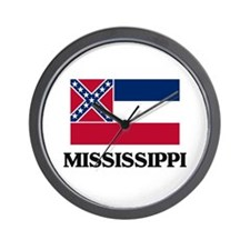 Mississippi Wall Clock