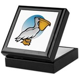 Animal Art Pelican Keepsake Box