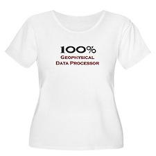 100 Percent Geophysical Data Processor T-Shirt