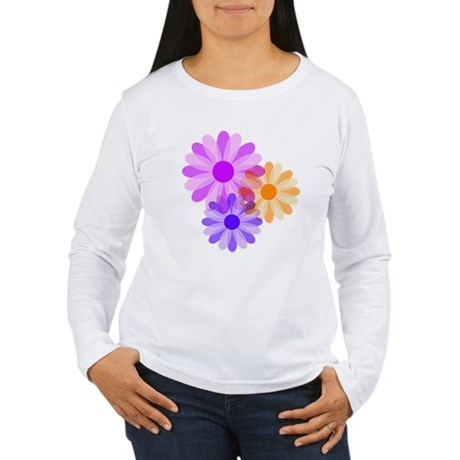Flowers Women's Long Sleeve T-Shirt