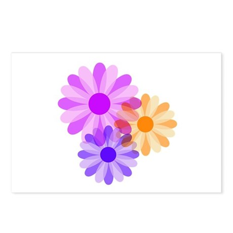 Flowers Postcards (Package of 8)
