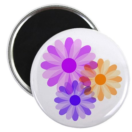 "Flowers 2.25"" Magnet (100 pack)"