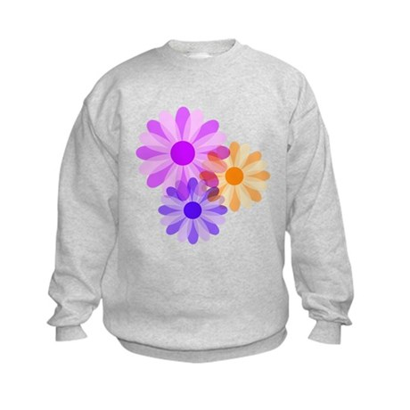 Flowers Kids Sweatshirt