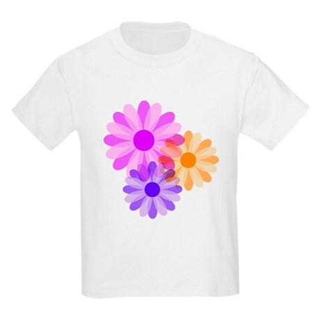 Flowers Kids Light T-Shirt