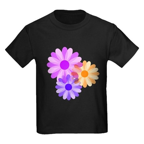 Flowers Kids Dark T-Shirt