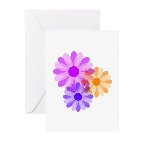 Flowers Greeting Cards (Pk of 20)
