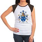 Sailer Family Crest Women's Cap Sleeve T-Shirt
