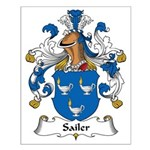 Sailer Family Crest Small Poster