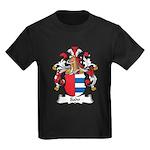 Sahr Family Crest Kids Dark T-Shirt