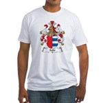 Sahr Family Crest Fitted T-Shirt