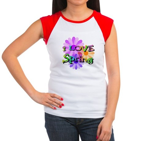 Love Spring Women's Cap Sleeve T-Shirt