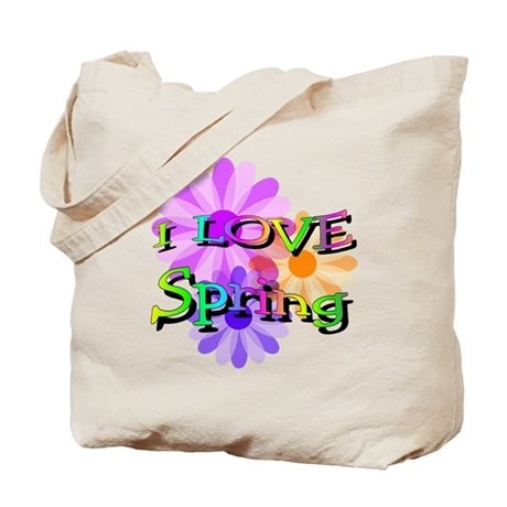 Love Spring Tote Bag