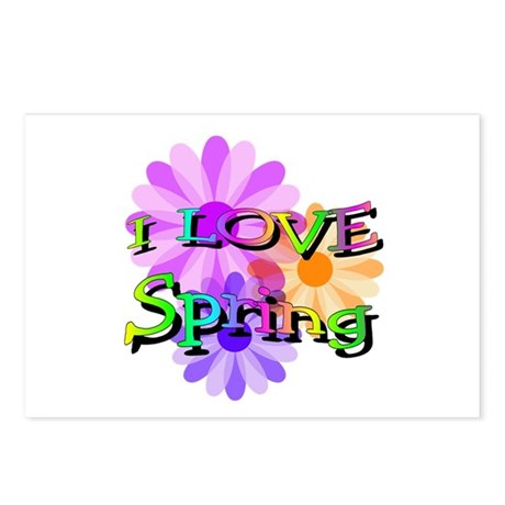 Love Spring Postcards (Package of 8)