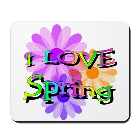 Love Spring Mousepad