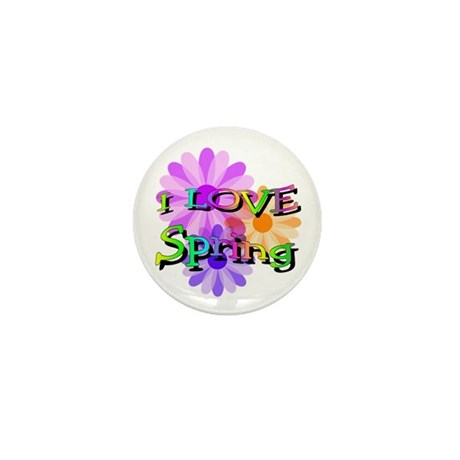 Love Spring Mini Button (10 pack)