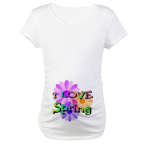 Love Spring Maternity T-Shirt