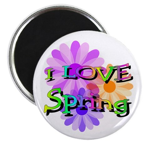 "Love Spring 2.25"" Magnet (100 pack)"