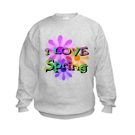 Love Spring Kids Sweatshirt