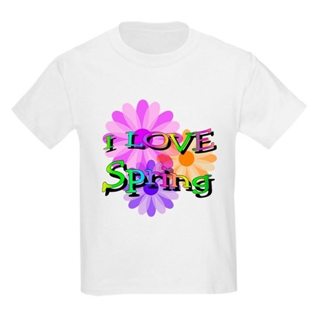 Love Spring Kids Light T-Shirt