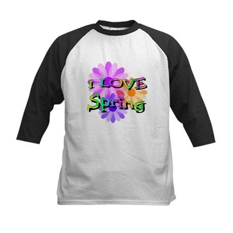 Love Spring Kids Baseball Jersey
