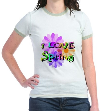 Love Spring Jr. Ringer T-Shirt