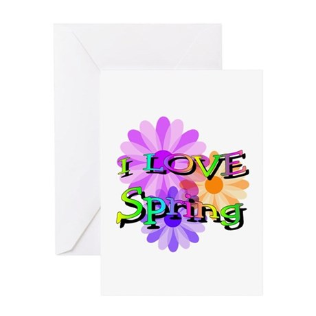 Love Spring Greeting Card