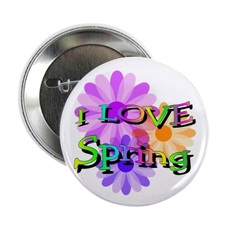 "Love Spring 2.25"" Button (10 pack)"