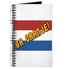 Ga oranje Flag Journal
