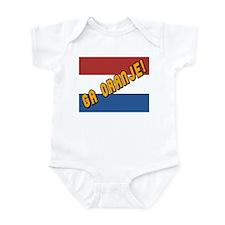 Ga oranje Flag Infant Bodysuit