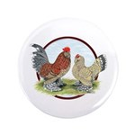 "Belgian d'Uccle Bantams 3.5"" Button (100 pack"