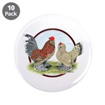 "Belgian d'Uccle Bantams 3.5"" Button (10 pack)"