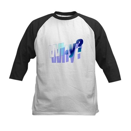 Why Kids Baseball Jersey